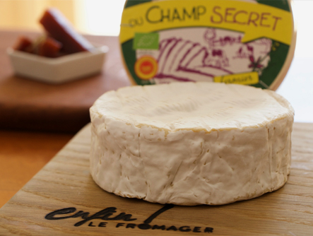 Fromage de vache Camembert du Champ Secret BIO